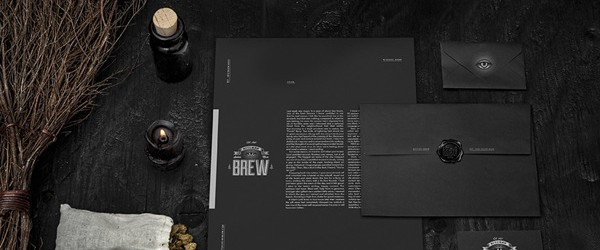Bitches' Brew design branding identity by Wedge and Lever 0 _0