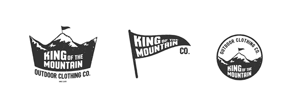 King of the Mountain Branding design on AMS Design Blog_000
