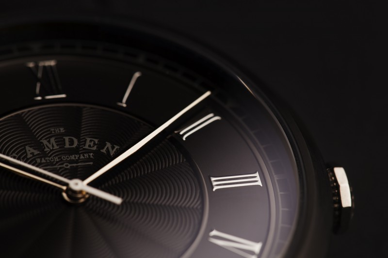 Camden Watch Company Automatic Black and Steel 1